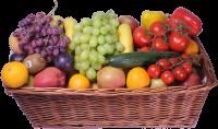 Obst und Gemüse Korb Klein